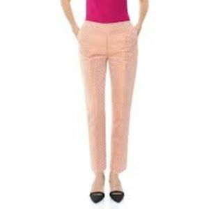 🆕Cache Pretty In Pink Jacquard Skinny Ankle Pants
